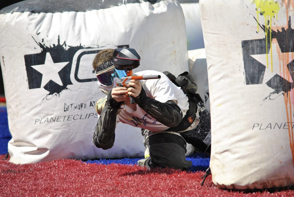 Laser gamen of paintballen